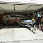 Garage Organizing Tip: Maximize garage space so you can actually park your car in the garage.
