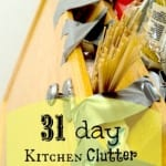 [Day 13] Flower Vases: Kitchen Clutter Clear Out