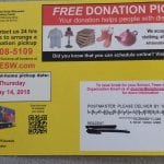 Weekend Organizing Challenge: Schedule a Donation Pick Up