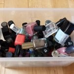 Weekend-Mini Organizing Challenge: Nail Polish