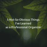 5 Not-So-Obvious Things I've Learned as a Professional Organizer