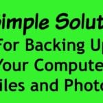 Weekend Mini-Organizing Challenge:  Electronics Backup For Peace of Mind