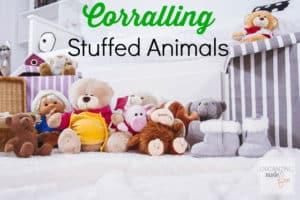corralling stuffed animals