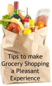tips to make grocery shopping pleasant