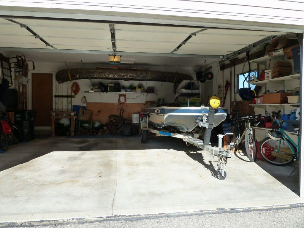 Garage organizing tip maximize garage space so you can for Maximize garage storage