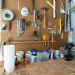 Garage Organizing Tip: Organizing Small Tools.