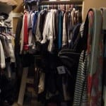 Before and After: Clothing Closet Organization