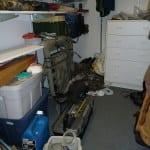 Organizing a Basement Storage Closet