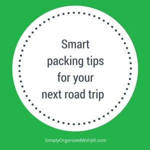 road trip packing tips, car trip packing list