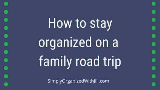 organized car trip, organized road trip
