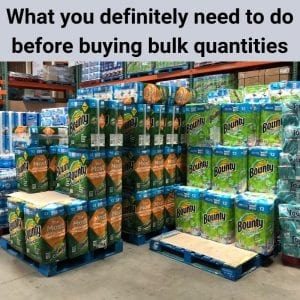 warehouse bulk shopping