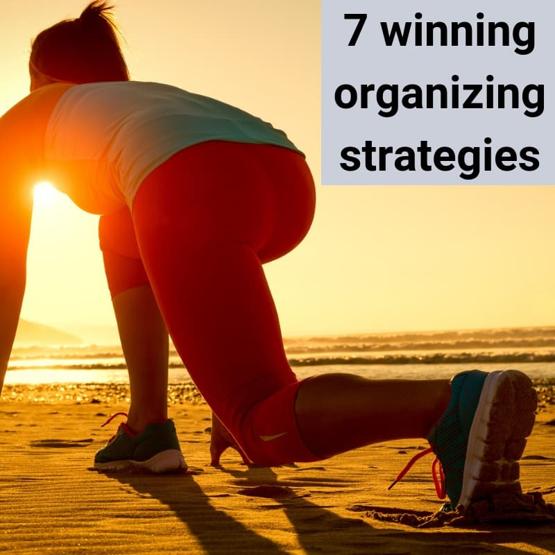 organizing strategies