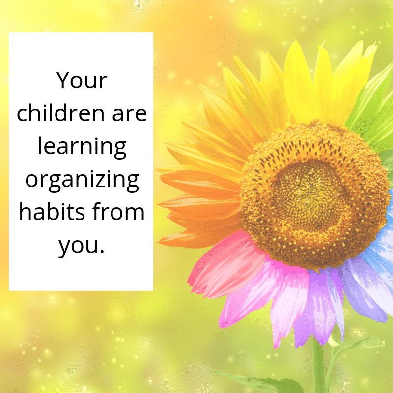organizing habits