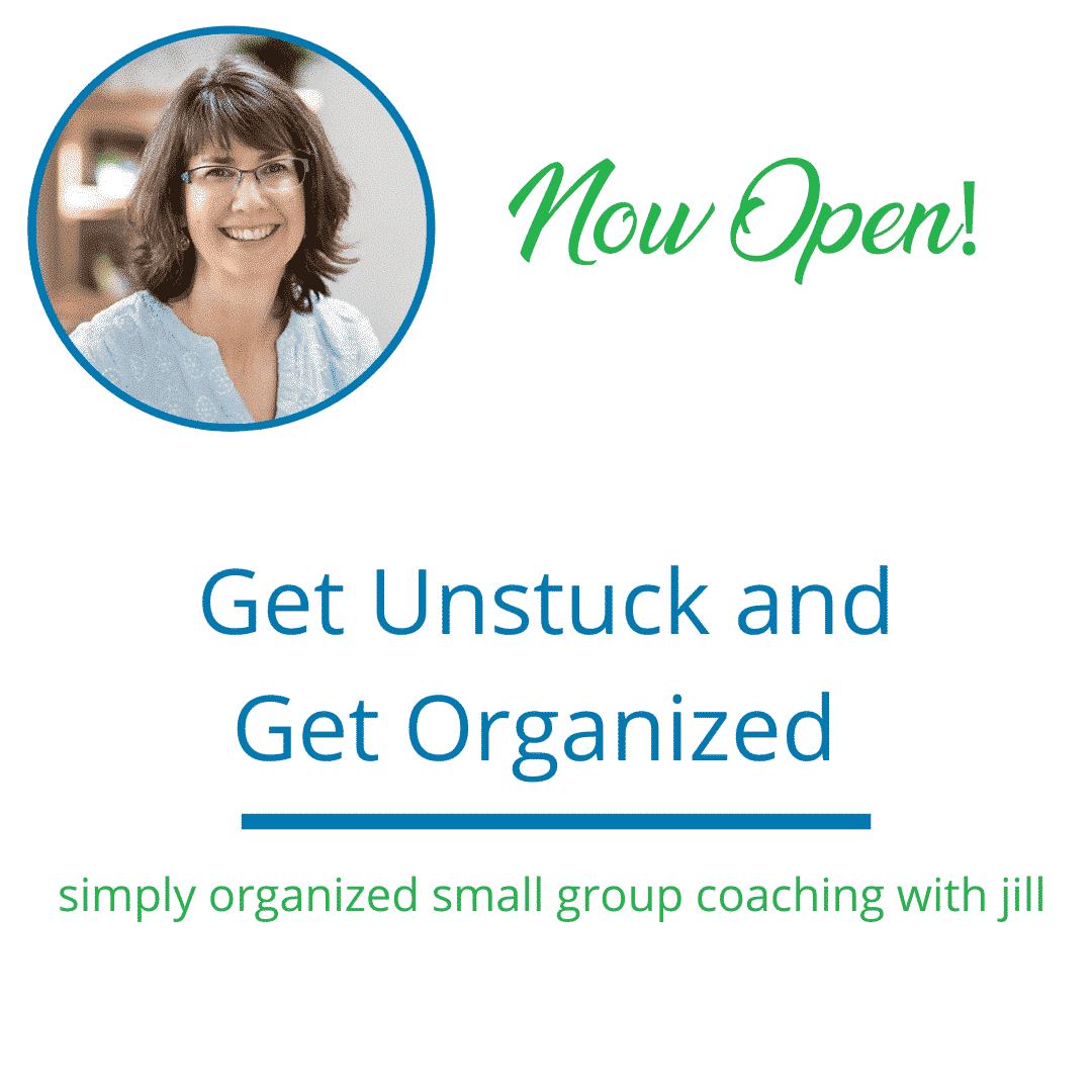 get organized small group coaching